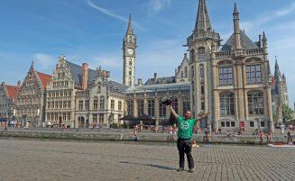 Gante, Amberes y los molinos de Kinderdijk- Cabo norte en moto – Capítulo 5