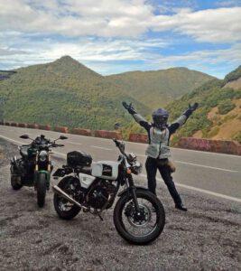 Vistas carretera Montseny - El Brull