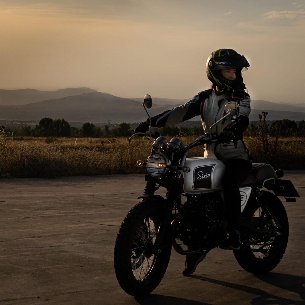 Protegete siempre en moto