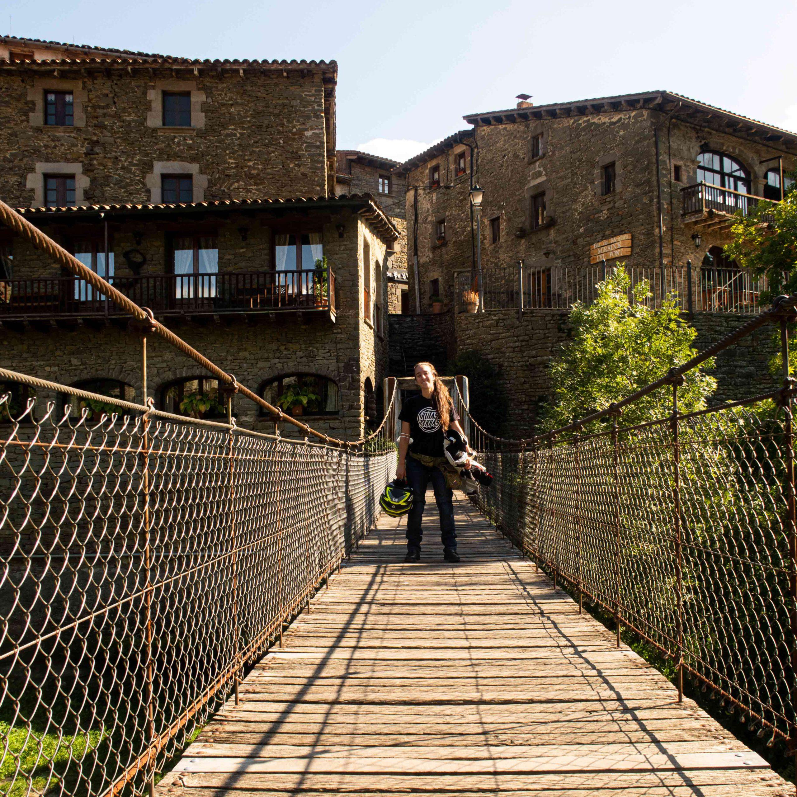 Puente colgante - Rupit
