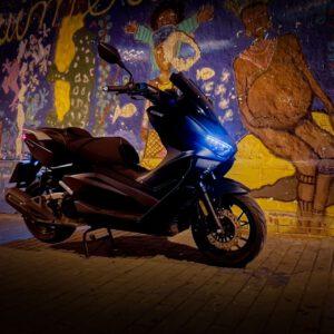 keeway vieste 125  scooter urbano económico